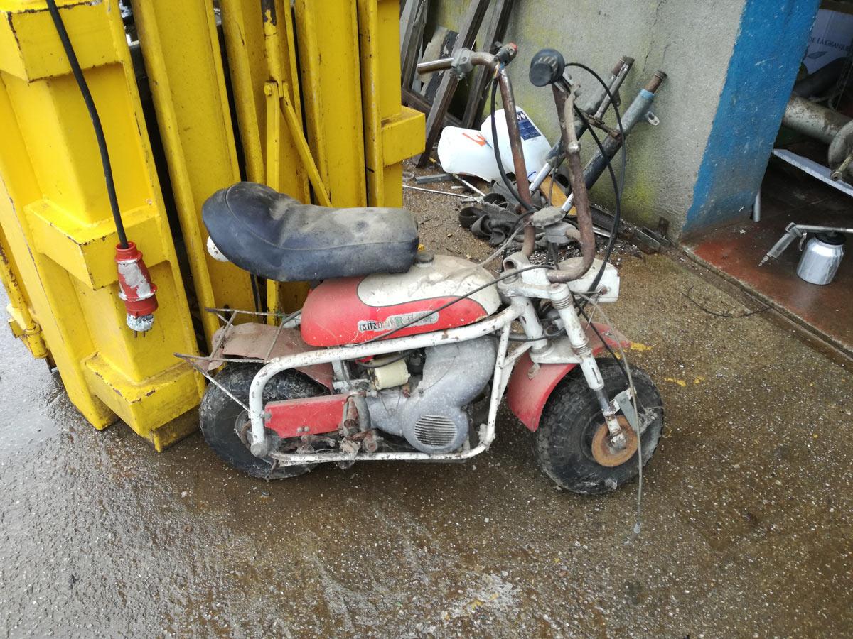 Mini marcelino motos cl sicas javier gabeiras - Mini clasico para restaurar ...